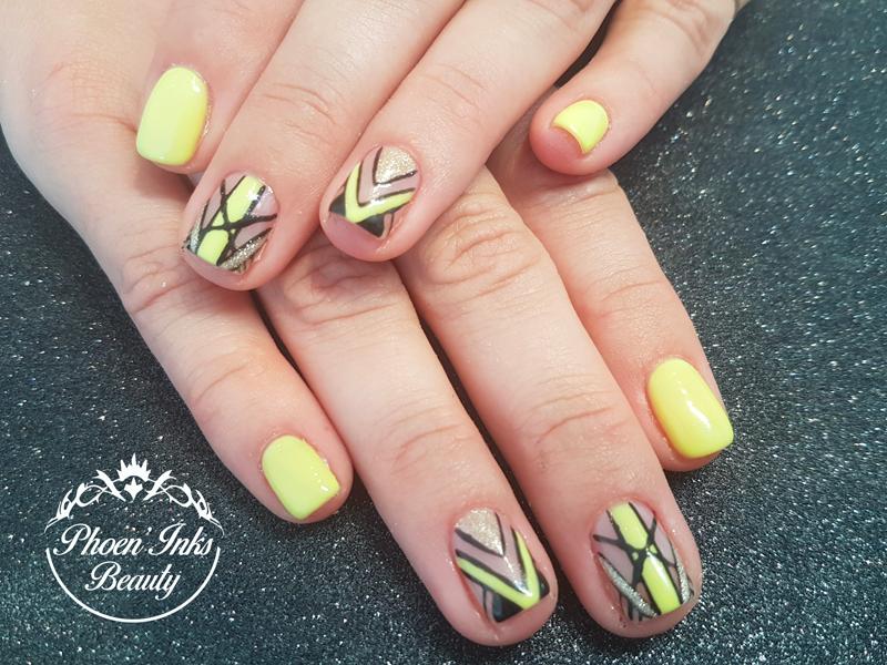 Ongles semi permanent nail art st Malo